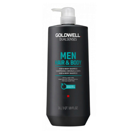 Goldwell Dualsenses Men Hair & body Shampoo 1000ml - body and hair shampoo