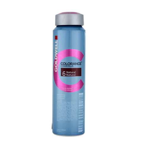 6 NATURAL Dark blonde Goldwell Colorance Cover plus Naturals can 120ml