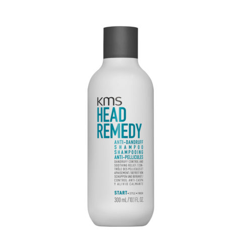 KMS Head Remedy Anti-Dandruff Shampoo 300ml - Anti Dandruff Shampoo Relieves Itching