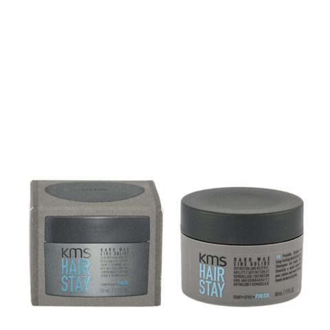 KMS Hair Stay Hard Wax 50ml - Strong Hair Wax Dry Effect