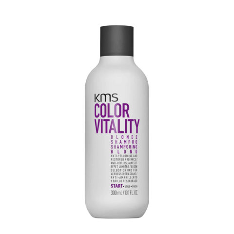 KMS Color Vitality Blonde Shampoo 300ml - Anti Yellow Shampoo
