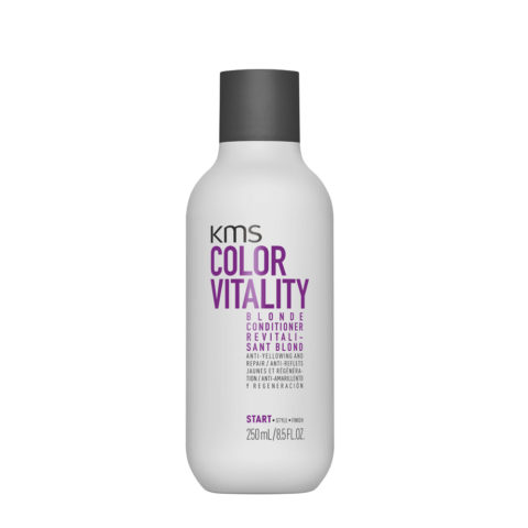 KMS Color Vitality Blonde Conditioner 250ml - Anti Yellow Conditioner