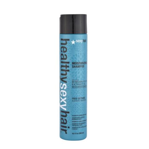 Healthy Sexy Hair Moisturizing Shampoo 300ml - hydrating and sulfate free