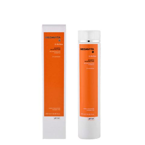 Medavita Lenghts Beta-Refibre Reconstructive shampoo pH 5.8 250ml