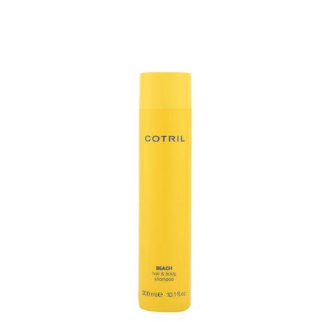 Cotril Beach hair & body Shampoo 300ml