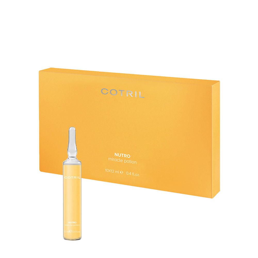 Cotril Creative Walk Nutro Miracle Potion vials 10x12ml - Nourishing Serum