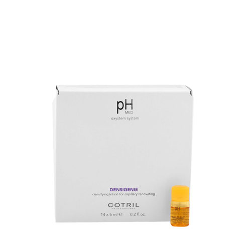 Cotril pH Med Densigenie Densifying Lotion for capillary renovating 14x6ml - densifying vials for thinning hair