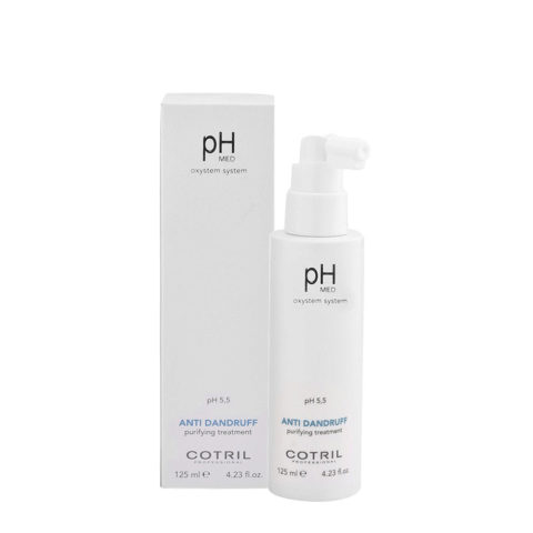 Cotril pH Med Anti-Dandruff Purifying Treatment 125ml - Purifying anti-dandruff lotion