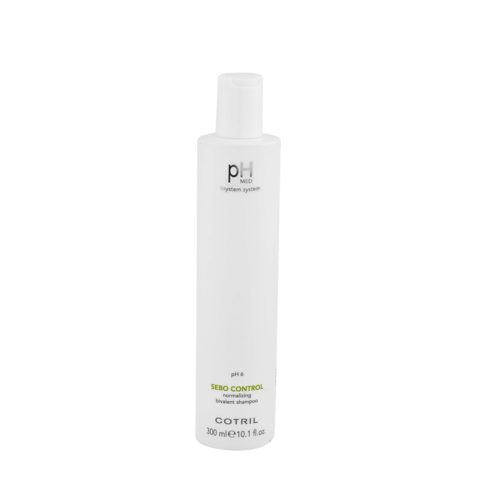 Cotril pH Med Sebo Control Normalizing bivalent Shampoo 300ml - Bivalent anti-fat shampoo