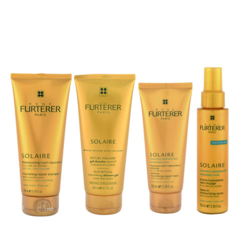 René Furterer Solaire Complete after-sun ritual 4 products