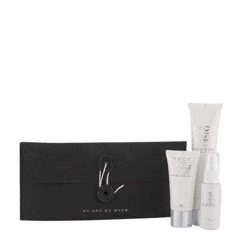 Nyce Anti pollution Woman Kit Shampoo 75ml Cream 30ml Milk 30ml