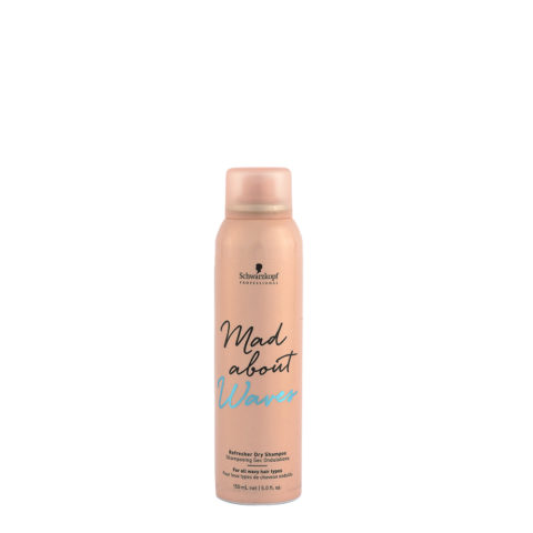 Schwarzkopf Mad about Waves Refresher Dry Shampoo 150ml - Dry shampoo