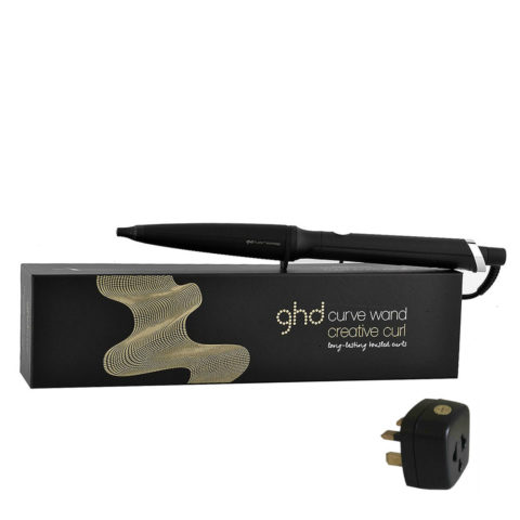 GHD Curlers Curve Wand Creative curl with adapter