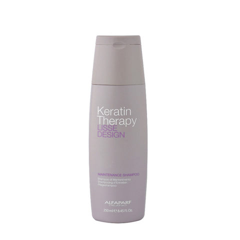 Alfaparf Lisse Design Keratin Therapy Maintenance Shampoo 250ml - maintenance shampoo