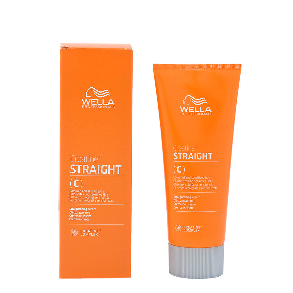 Wella Creatine+ Straight C Smoothing Cream For Colored And Sensitive Hair 200ml