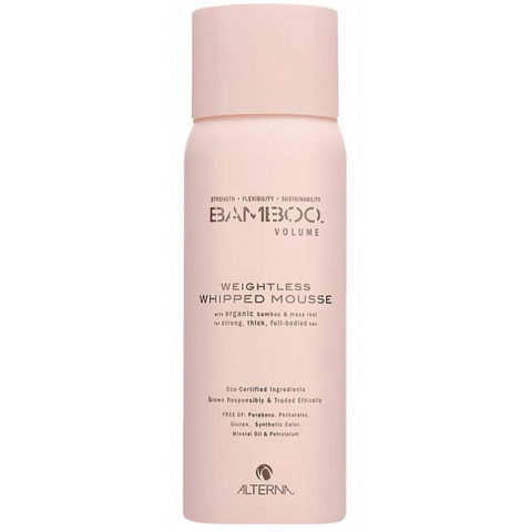 Alterna Bamboo Volume Weightless whipped mousse 170g - volume mousse