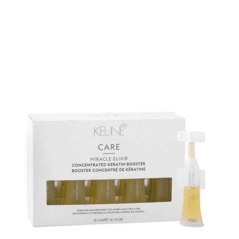 Keune Care Line Keratin smooth Miracle elixir booster 15x2ml