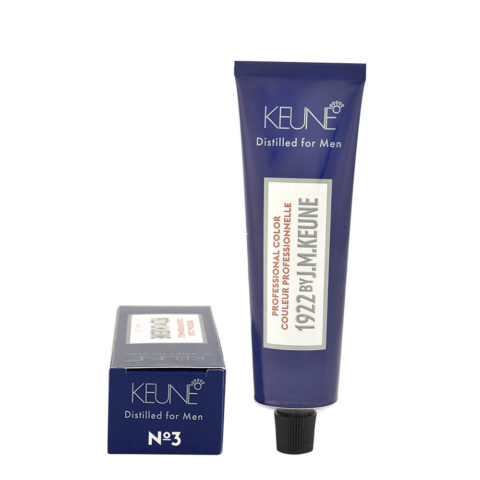 N 3 Keune 1922 Color Dark brown 60ml