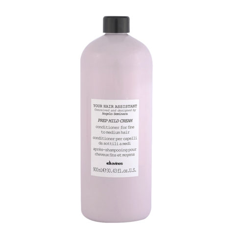 Davines YHA Prep mild cream 900ml - conditioner for fine to medium hair