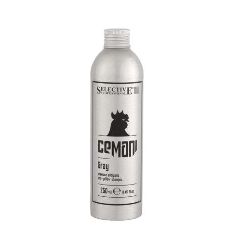 Selective Cemani Gray Shampoo 250ml - antiyellow shampoo