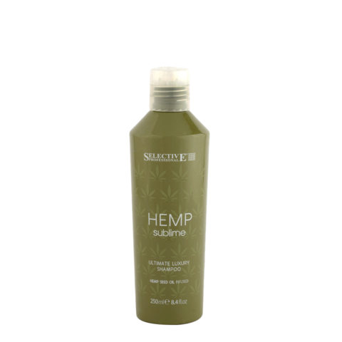 Selective Hemp sublime Ultimate luxury Shampoo 250ml - with hemp seed oil
