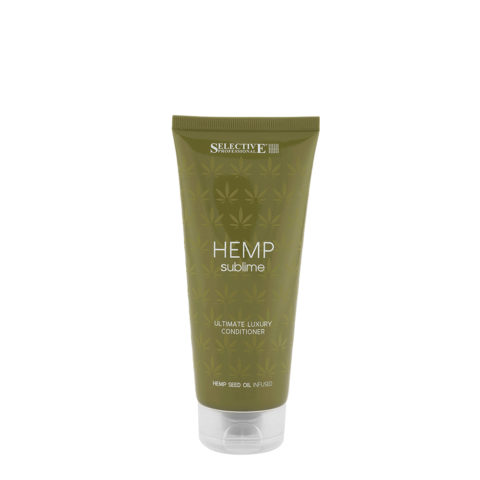 Selective Hemp sublime Ultimate luxury Conditioner 200ml - hemp seed oil conditioner
