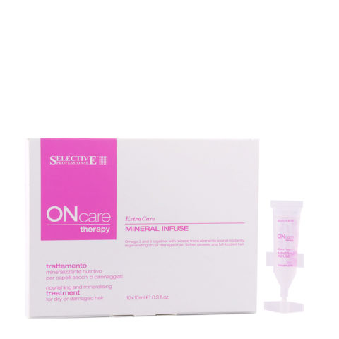 Selective On care Extra Care Mineral Infuse Treatment 10x10ml - Mineralizing Treatment