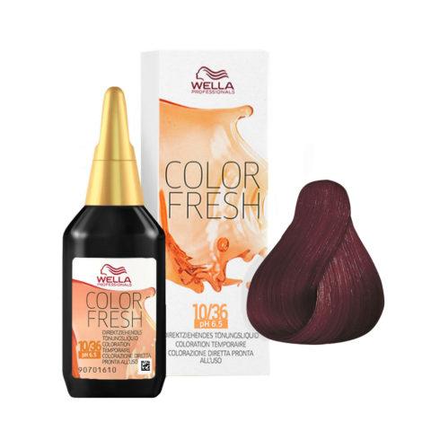 5/56 Light violet mahogany brown Wella Color fresh 75ml