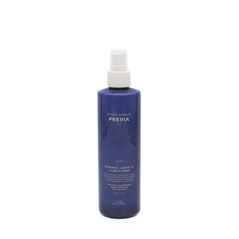 Previa Silver Blonde Biphasic Leave in Conditioner 260ml - anti yellow conditioner without rinsing