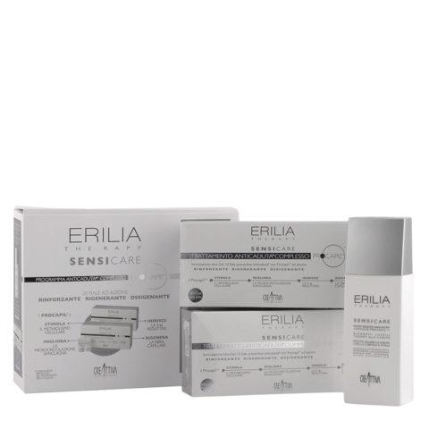 Erilia Sensicare Procapil Anti hair loss kit: shampoo 250ml + vials 20x8ml