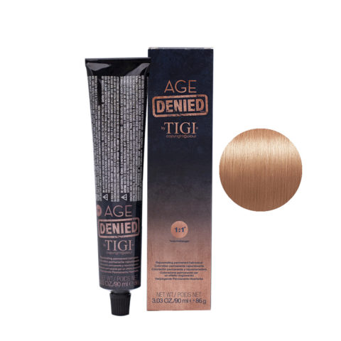 9/4 Very light copper blonde Tigi Age Denied 90ml