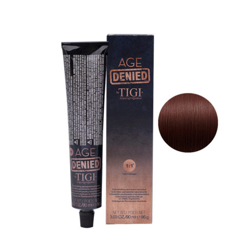 4/56 Mahogany red brown Tigi Age Denied 90ml