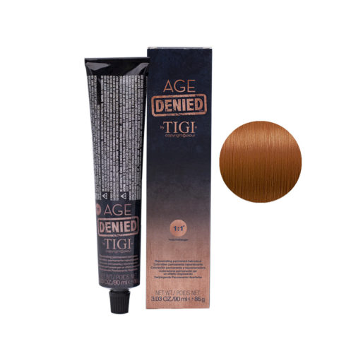 7/4 Copper blonde Tigi Age Denied 90ml