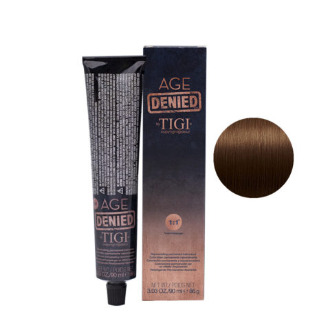 5/34 Light golden copper brown Tigi Age Denied 90ml