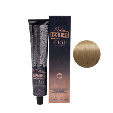 9/31 Very light golden blue blonde Tigi Age Denied 90ml
