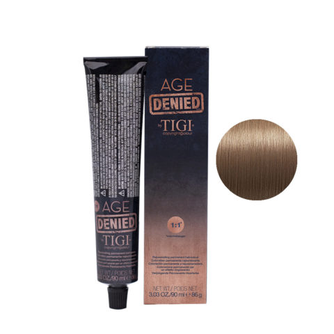 8/32 Light golden violet blonde Tigi Age Denied 90ml