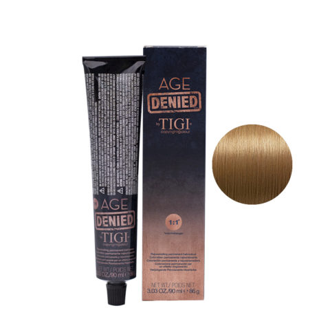 8/34 Light golden copper blonde Tigi Age Denied 90ml