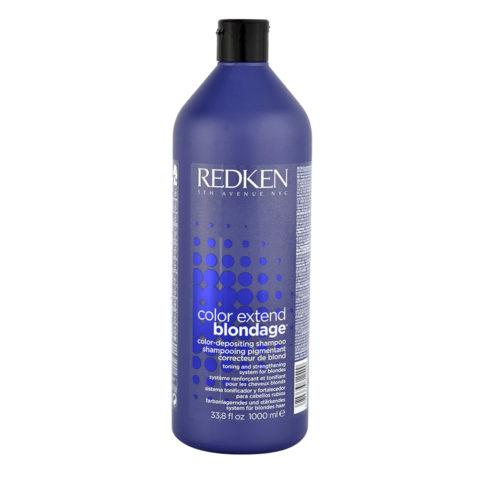 Redken Color extend Blondage Shampoo 1000ml - shampoo blond hair