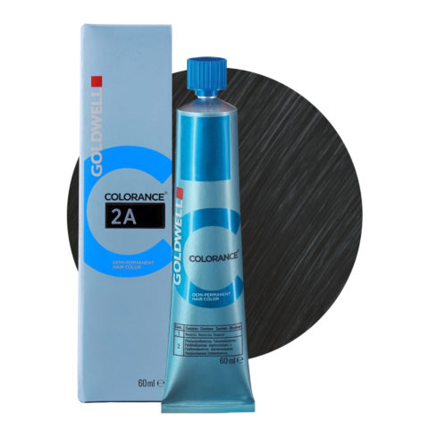 2A Blue black Goldwell Colorance Cool browns tb 60ml