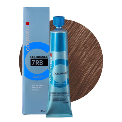 7RB Light red beech Goldwell Colorance Warm browns tb 60ml
