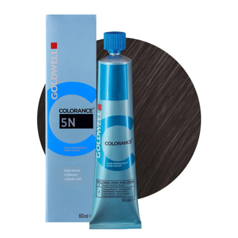 5N Light brown Goldwell Colorance Naturals tb 60ml