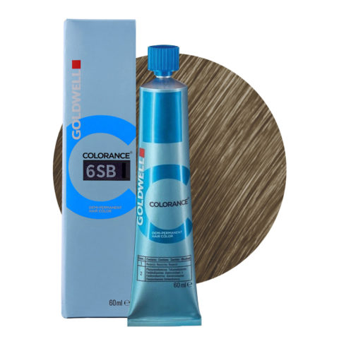 6SB Silver brown Goldwell Colorance Cool browns tb 60ml