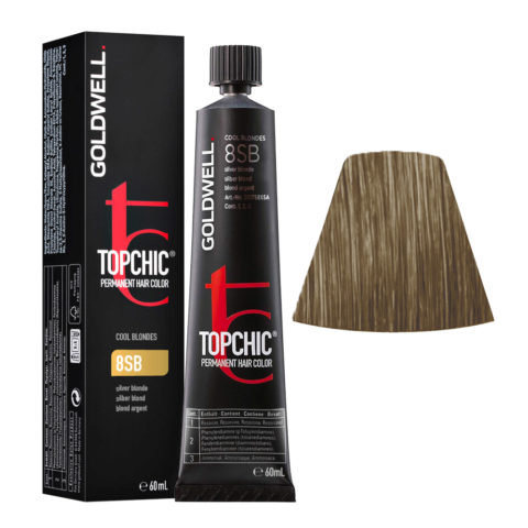 8SB Silver blonde Goldwell Topchic Cool blondes tb 60ml
