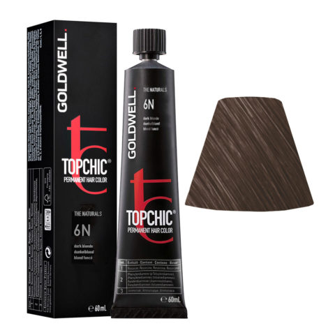 6N Dark blonde Goldwell Topchic Naturals tb 60ml