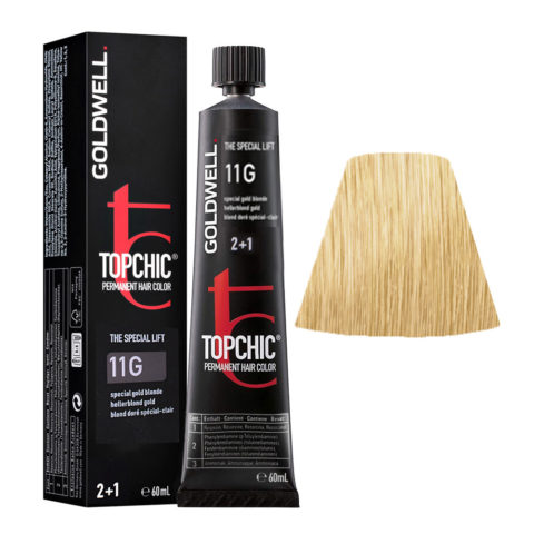 11G Special beige gold Goldwell Topchic Special lift tb 60ml