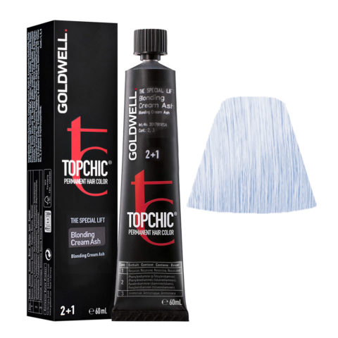 BLOCR ASH Blonde cream ash Goldwell Topchic Special lift tb 60ml