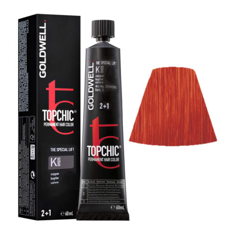 K EFFECTS Copper Goldwell Topchic Special lift effects tb 60ml