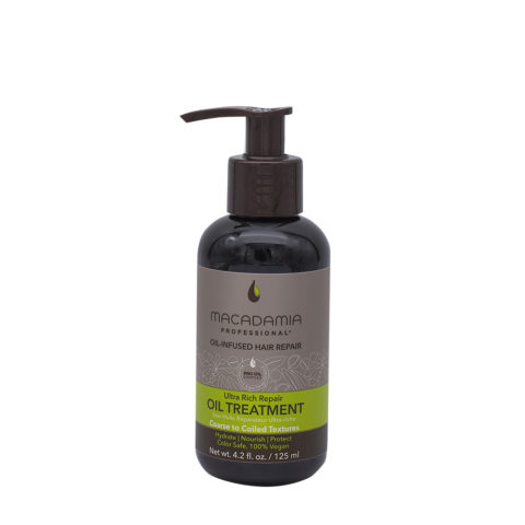 Macadamia Ultra Rich Moisturizing Oil For Damaged And Thick Hair 125ml