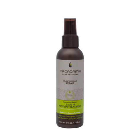 Macadamia Nourishing Leave-in Protein Treatment For Damaged Hair148ml