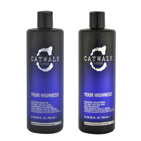 Tigi CatWalk Your Highness Elevating Shampoo 750ml Elevating Conditioner 750ml